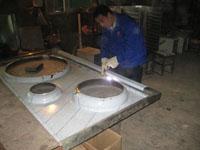 焊接炉面台